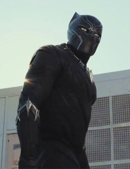 """""""黑豹""""在《美国队长3》的作用举足轻重"""