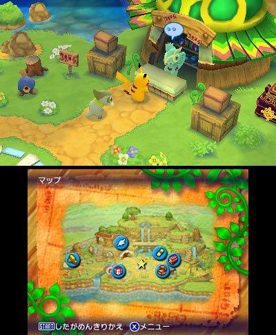 口袋妖怪不可思议迷宫冬季登陆3DS