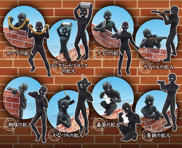 8款犯罪造型 岛国推出《柯南》黑衣人盒玩周边