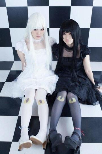 诡异又可爱 日本推出猫眼丝袜