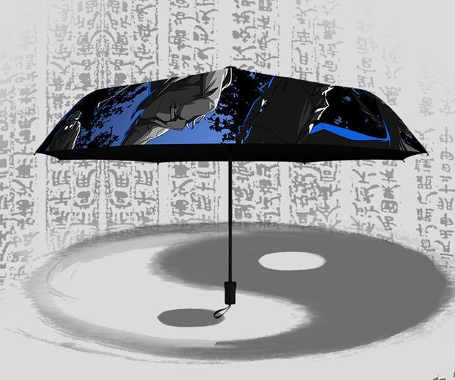 漫能再度携手腾讯动漫推出官方授权《一人之下》晴雨伞