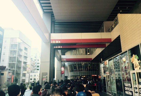 剧场版《Lovelive!》发售活动引发千人排队
