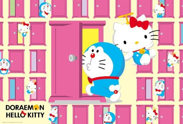 贞子与凯蒂猫合体 三丽鸥有哪些奇葩合作
