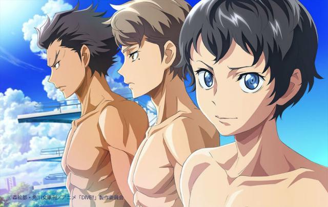 7月番《DIVE!!跳水男孩》公布动画新图