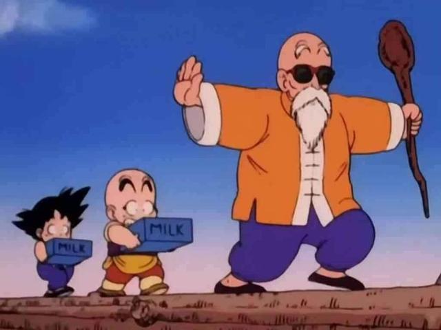 第8名:龟仙人and孙悟空 《龙珠》278票