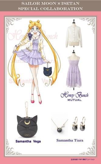 小兔变女神!《美少女战士》推出新款时尚女装