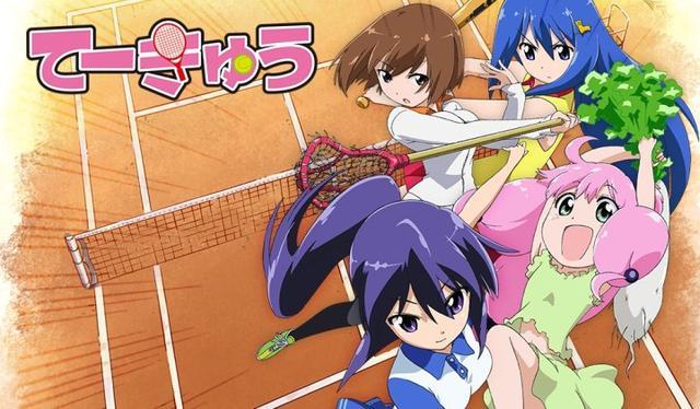 小强般的泡面番《女高网球部》动画第9季7月开播