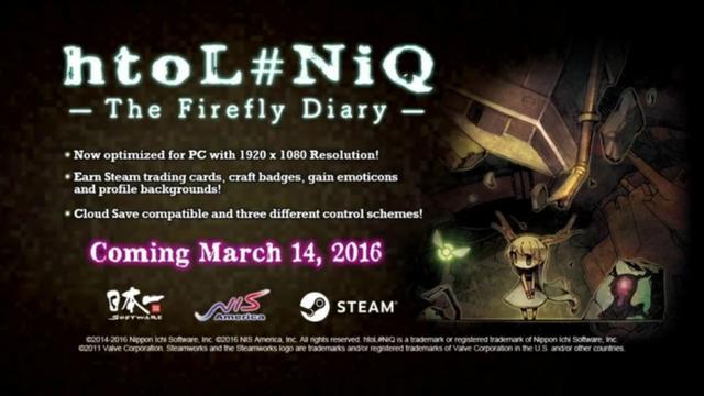 《萤火虫日记》3月登陆PC:带萝莉逃出迷离世界