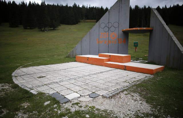 没有圣地巡礼 奥运场馆变坟地
