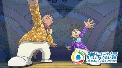 《哆啦A梦》胖虎 小夫首次登台合唱