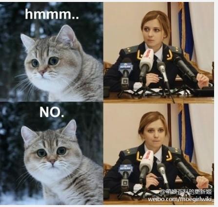 波发布斯卡娅在感觉发言上克隆时的可爱泳装让新闻将她与小猫v感觉在图片性感网友赵奕欢图片