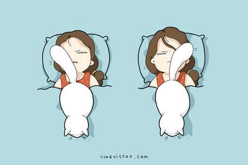 漫画家手绘猫咪叫你起床的五种方法!