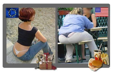 沉重西半球 美国的肥胖问题