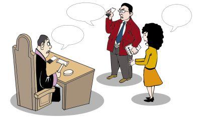 教授与前妻互发辱骂短信 被判相互道歉(图)