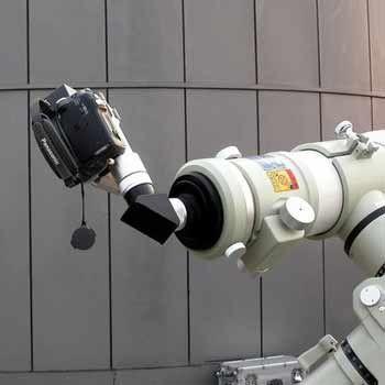 如何用摄象机拍摄日食