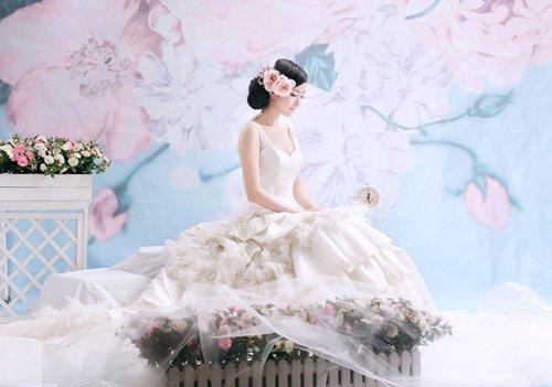 婚纱照金夫人_婚纱照风格