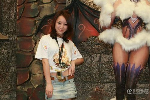 chinajoy美女:美女+魔女
