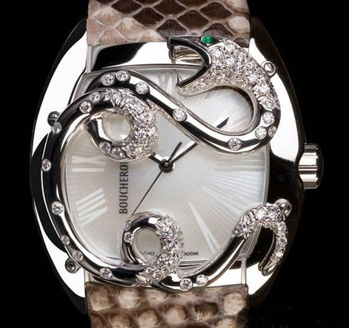 Boucheron宝诗龙绚美珠宝腕表
