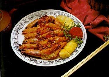 蒸蒜香大虾