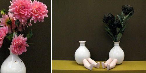 为插花而生的花瓶娃娃