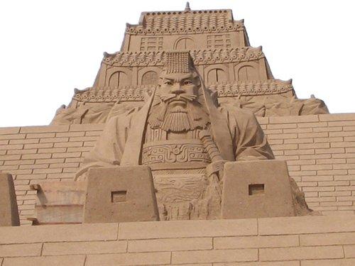 最大规模室内沙雕展现身大都会广场