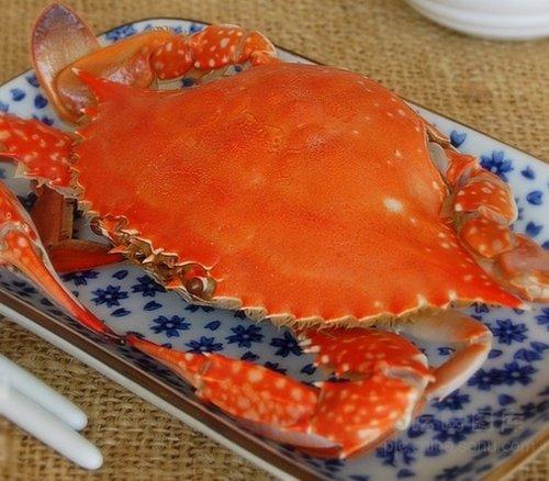 清蒸梭子蟹
