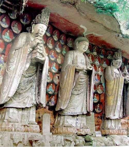 大足石刻 中国最大密教支提信仰建筑群