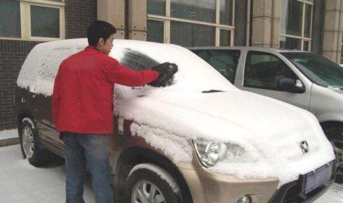 雪后洗车有门道 亲身经历教你如何洗