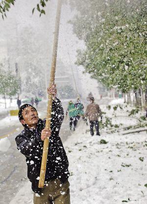 未来3天继续冷酉阳高海拔山区全境飘雪,