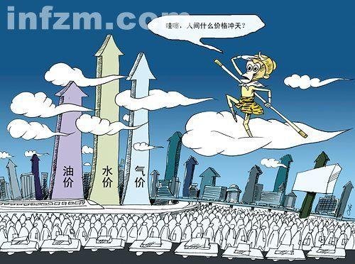 """为何中国""""水电煤油气热""""疯狂涨价"""