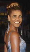 怪物:真人太有恶搞奥巴马PS变成图片女郎_网友可爱组图包表情动态图片