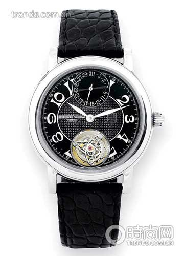 康斯登1分钟浮动陀飞轮手表