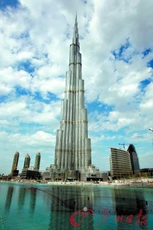 """世界最高建筑确定828米高 改名为""""哈里发"""""""