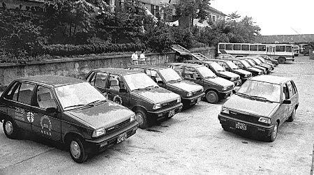 由奥拓到志翔 重庆出租车型的演变史