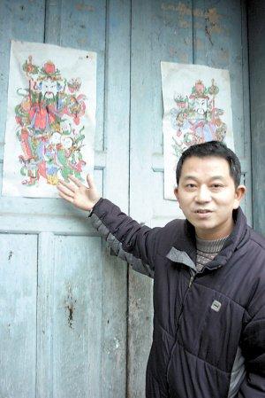 痴心守候 梁平年画终得薪火相传(图)