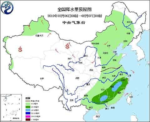 节前春运期间我国将出现大范围雨雪天气