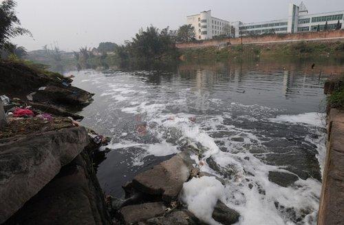 河水遭严重污染 璧山一村庄成癌症高发地