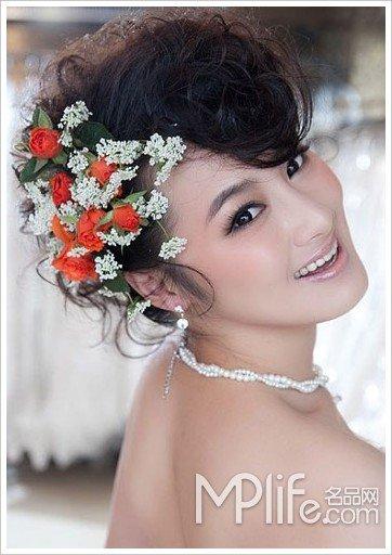 跟风ladygaga 5款夸张新娘妆图片