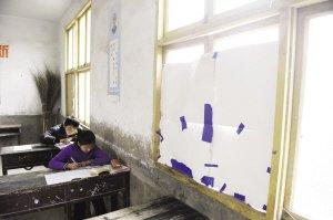一位老师撑起一所学校 12个学生有7个差点没来