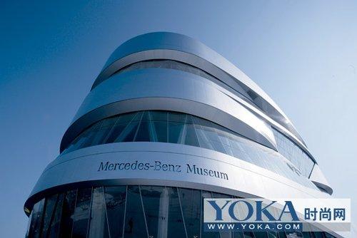 奔驰博物馆印象:为艺术而生的房子