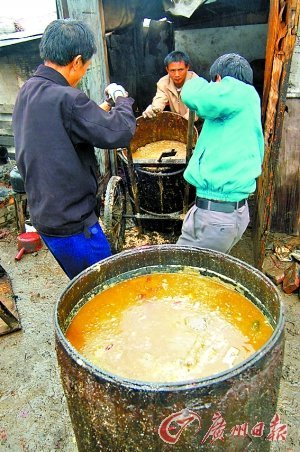 厨师透露川菜馆和湘菜馆使用地沟油最多(图)