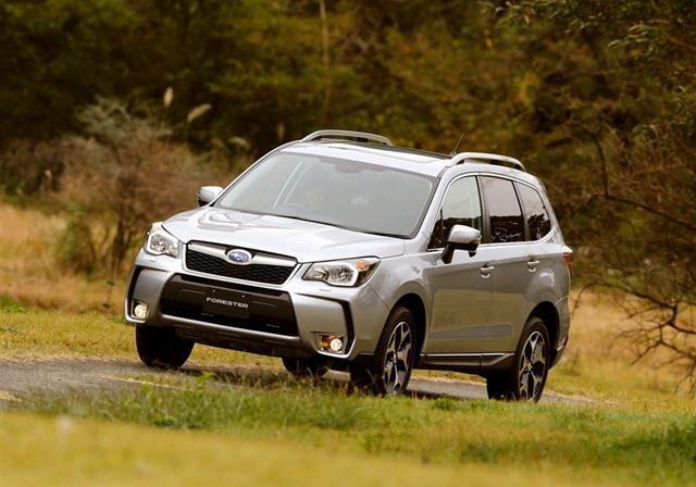 欧蓝德对比森林人 日系紧凑级SUV最高水准