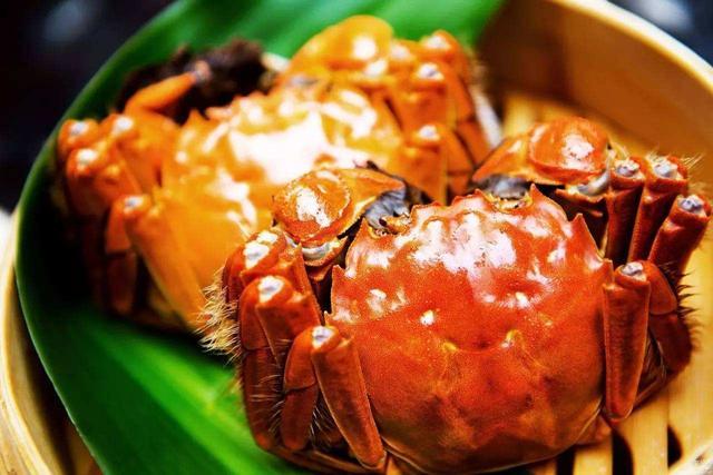 大闸蟹勿多食,一次吃一对最合适