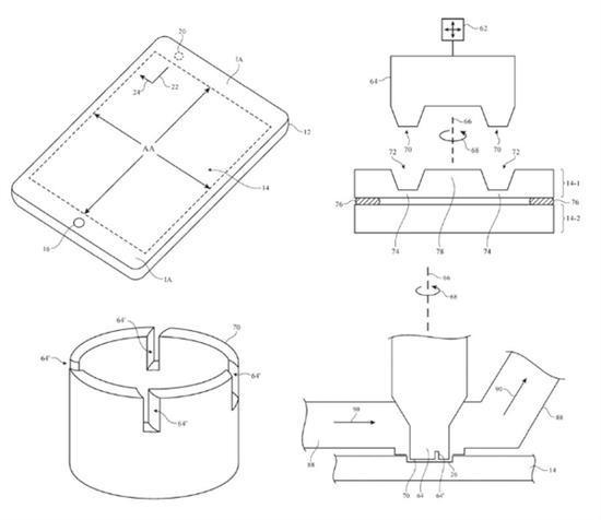 苹果新专利抛弃刘海屏 在屏幕上进行钻孔