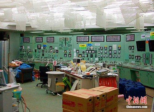 东京电力公司称福岛核电站辐射量超标约10万倍