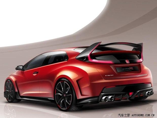 本田本田(进口)思域(海外)2014款 Type R concept