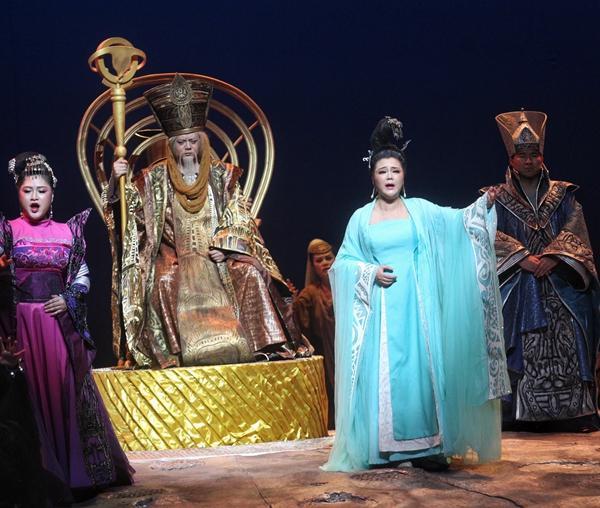 歌剧《辛夷公主》升级归来 新元素更好听好看