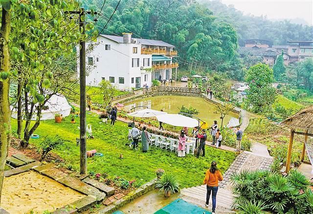 巴南圣灯山:打造休闲度假小镇