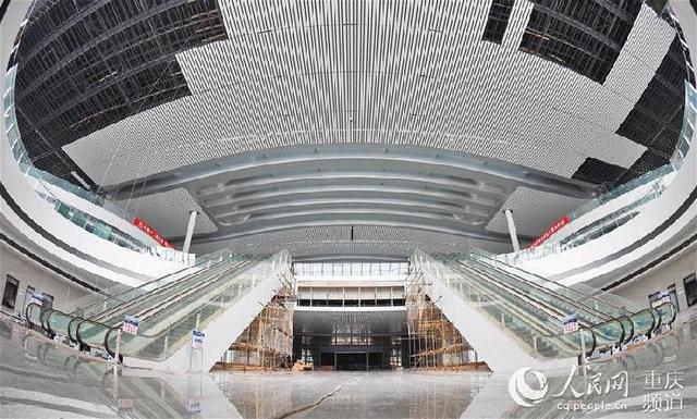 西部最大客运枢纽基本成型 今年底投用