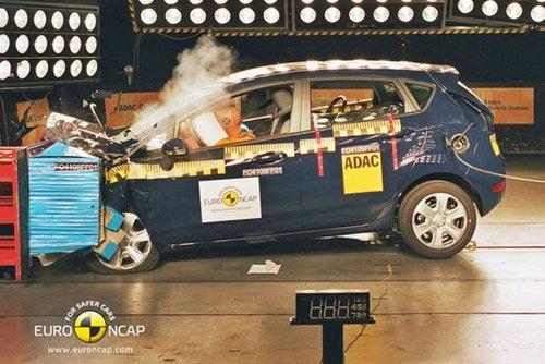 撞击测试机构公布了最新一期的撞击测验成绩,这次的测试车辆高清图片